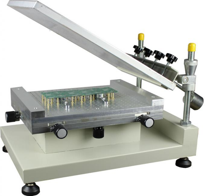 High Precision 3040 Manual Solder Paste Printer Machine 300*400mm For PCB Production Line