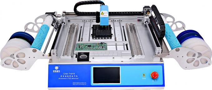 2 Heads 58 Feeders CHMT48VB Benchtop Advanced SMD Pick and Place Machine / All-in -one Chip Mounter