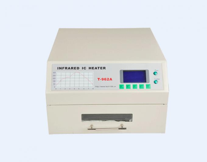T962A-Z Benchtop Reflow Oven 300*320mm 1500w IC Heater Infrared Welding Station