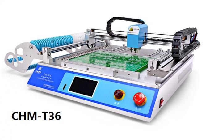 Desktop CHMT36 SMT SMD LED Pick And Place Machine 29 feeders Chip Mounter