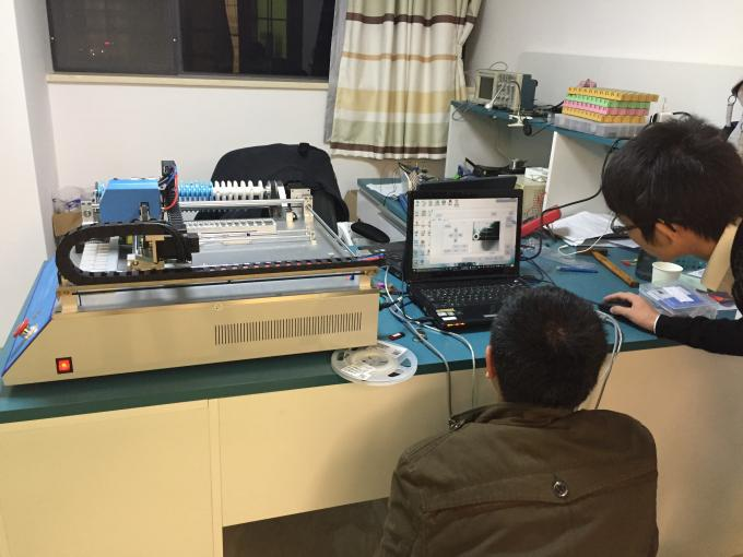 100% High feedback CHMT36VA Double cameras, Easy to use SMT SMD Pick and Place Machine, 100pins IC