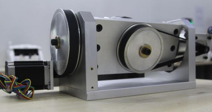 K01-100mm Chuck CNC 4th Axis / 5th Axis CNC Dividing Head for CNC Router