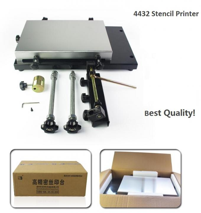 Manual Stencil Printer 4432 (320*440mm) SMT Solder Paste Printer for P&P machine