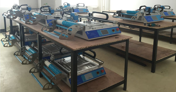 China High Accuracy CHMT48VA Desktop SMT Pick And Place Machine With Vision System supplier