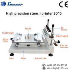 China High Precision 3040 Manual Solder Paste Printer Machine 300*400mm For PCB Production Line supplier