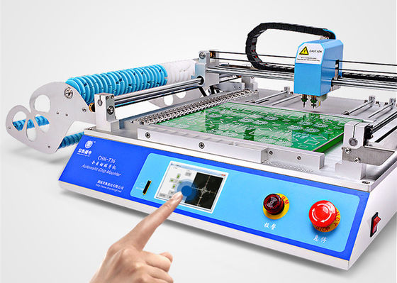 China Desktop CHMT36 SMT SMD LED Pick And Place Machine 29 feeders Chip Mounter supplier