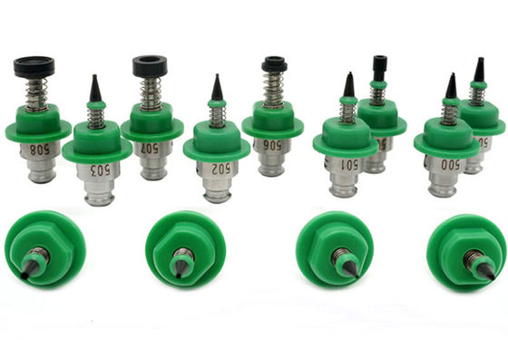China SMT Spare Part Green Juki Nozzle Charmhigh smt Pick and Place Machine 501-507 supplier