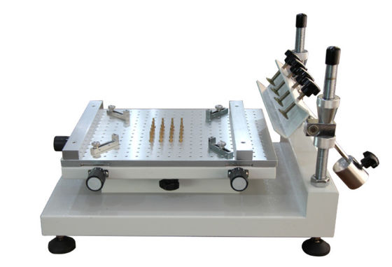 China High Precision Solder Paste Stencil Printer 3040 SMT Manual Solder Printer supplier