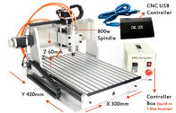 China USB CNC3040 3 Axis CNC Router 800w spindle 1.5kw VFD Drilling Milling Cutting Machine factory